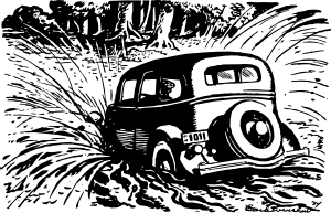 Car_Splashing_Into_The_Pool_clip_art_medium