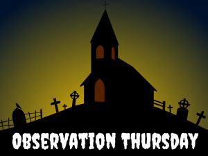 Observation Thursday (1)