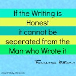 If Writing is Honest….